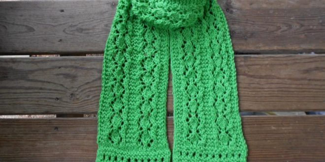 Finding Free Knitting Patterns For Scarves Thefashiontamer