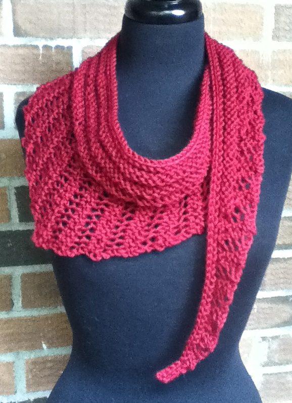 free scarf knitting patterns free knitting pattern for gallatin scarf vehldcm