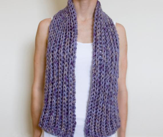 free scarf knitting patterns simple super chunky scarf