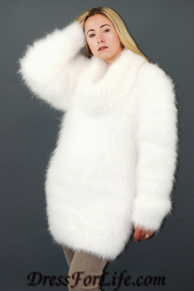 fuzzy pure angora sweater | handmade by and can be ordered au2026 | rttcywn
