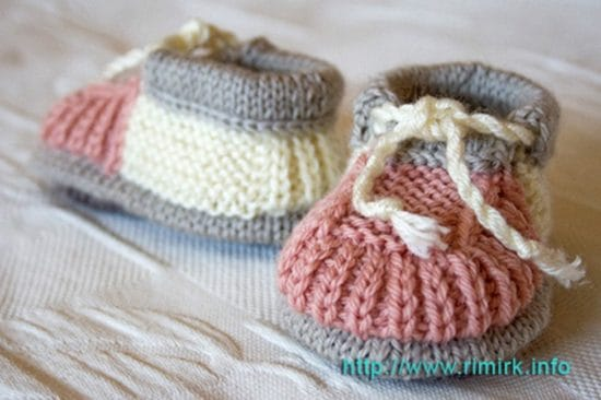 The Gift Of Knitted Baby Booties