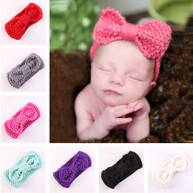 Girls Crochet Headbands – Hand bands and Hair Styling