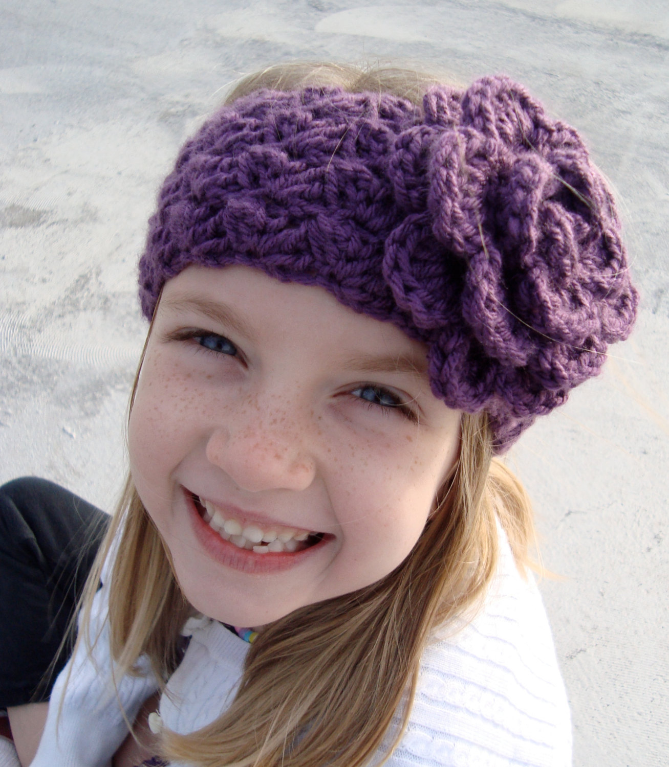 girls crochet headbands for all skgiiza