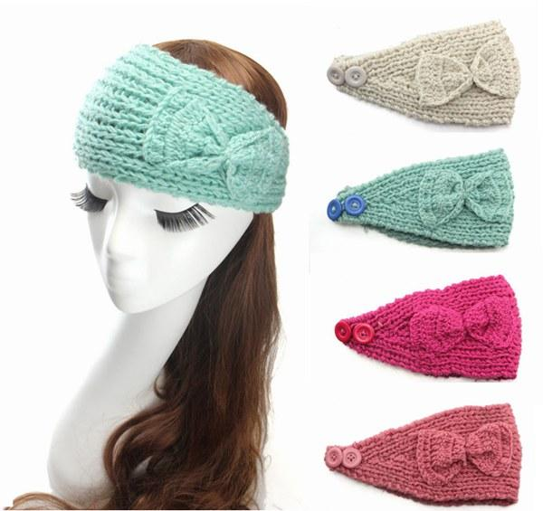 girls crochet headbands top woman crochet headbands girls hair bows ladies elastic head bands girl qpzdtio
