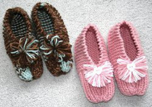 grandmas knitted slippers dfphghr