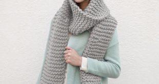 handmade chunky knit scarf ttyfyug
