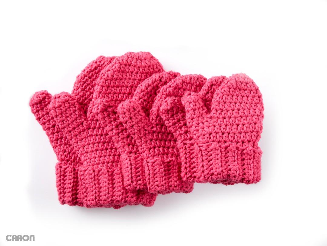 hands full crochet mittens rtywczt