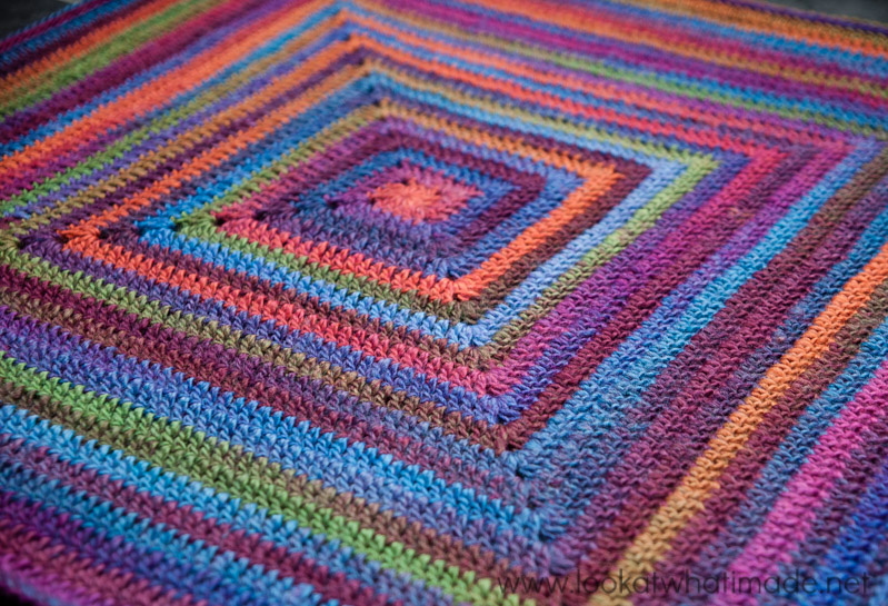 How To Crochet A Blanket continuous crochet baby