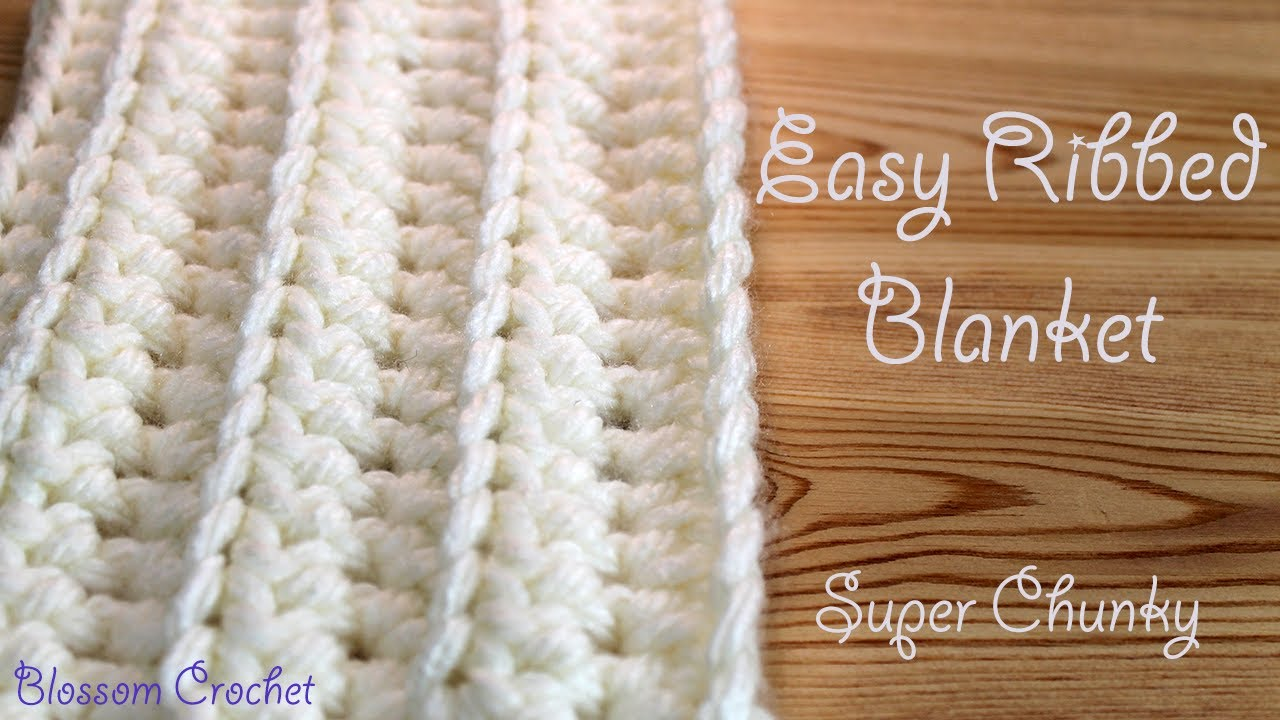 How To Crochet A Blanket easiest u0026 fastest