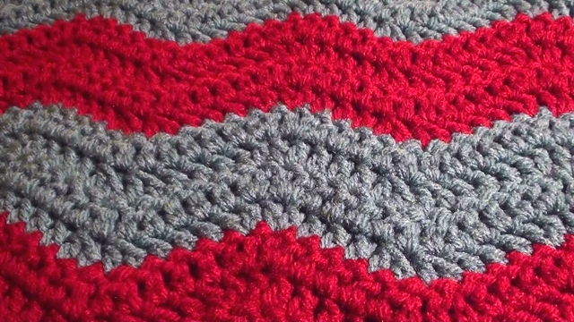 How To Crochet A Blanket soft crochet chevron blanket whmltxx