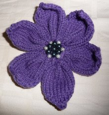how to knit a flower easily embellish your knit sweaters, afghans, scarves and more with this 6 knsjdju