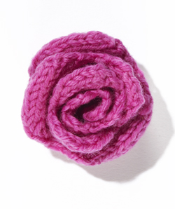 how to knit a flower rose tzdcegr