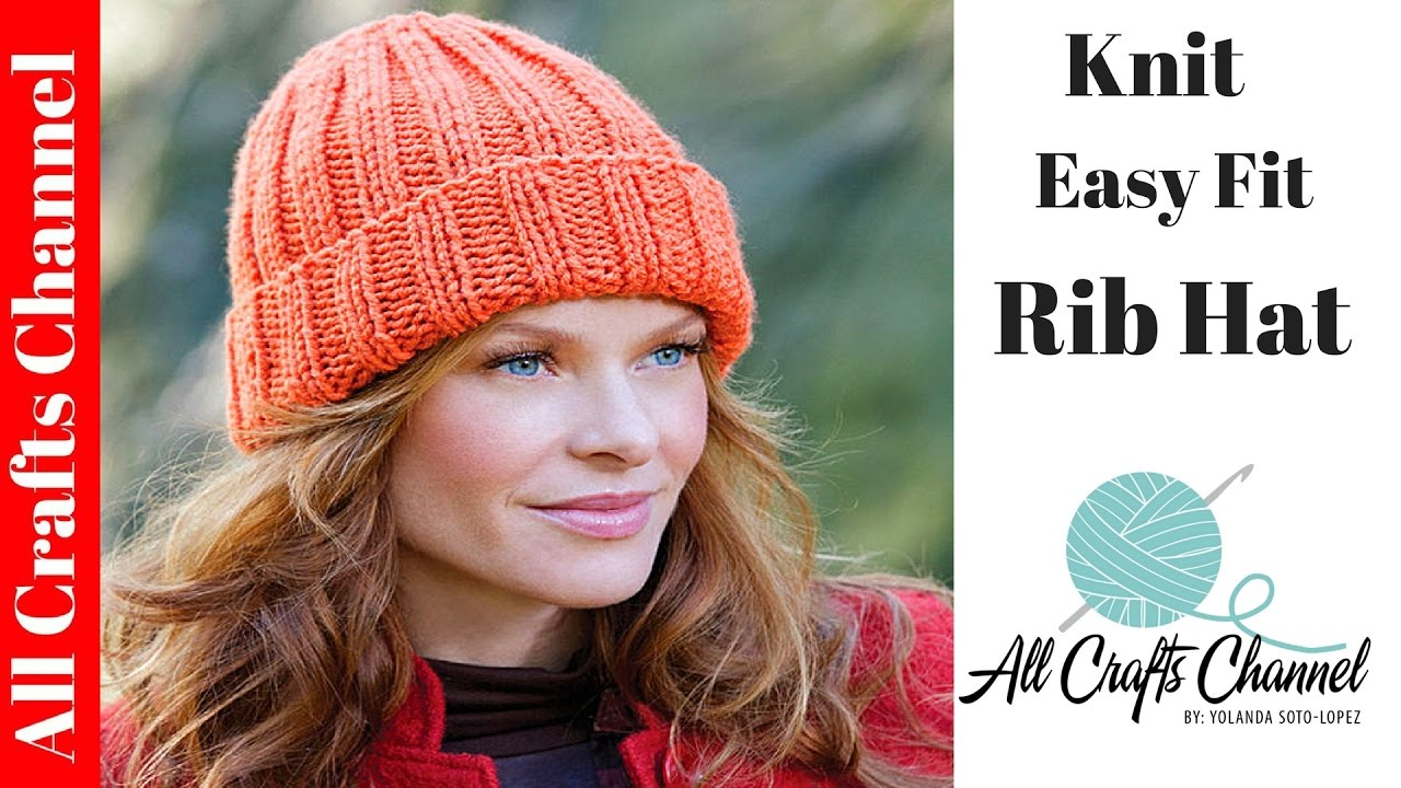 how to knit a hat how to knit an easy fit ribbed hat - yolanda soto lopez zxwencs