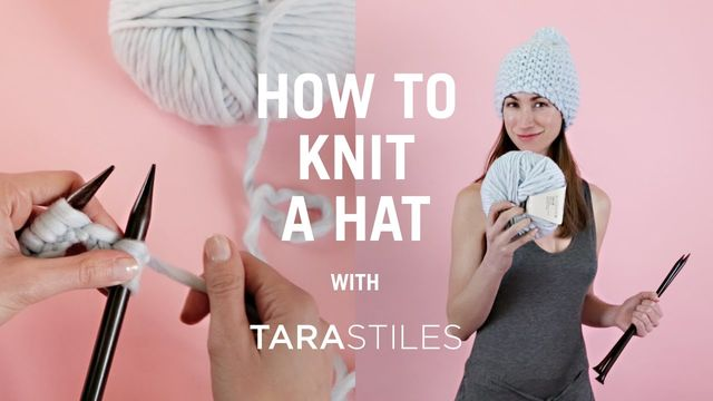 how to knit a hat | knitting | wool and the gang lysgphs