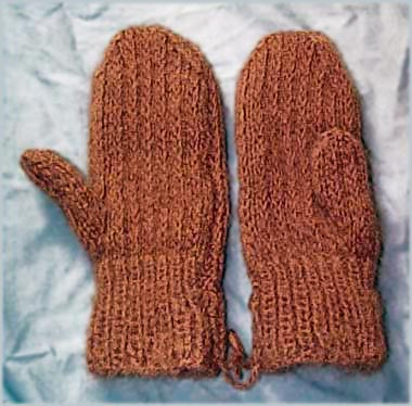 how to knit mittens two needle mittens knitting pattern edzfwbk