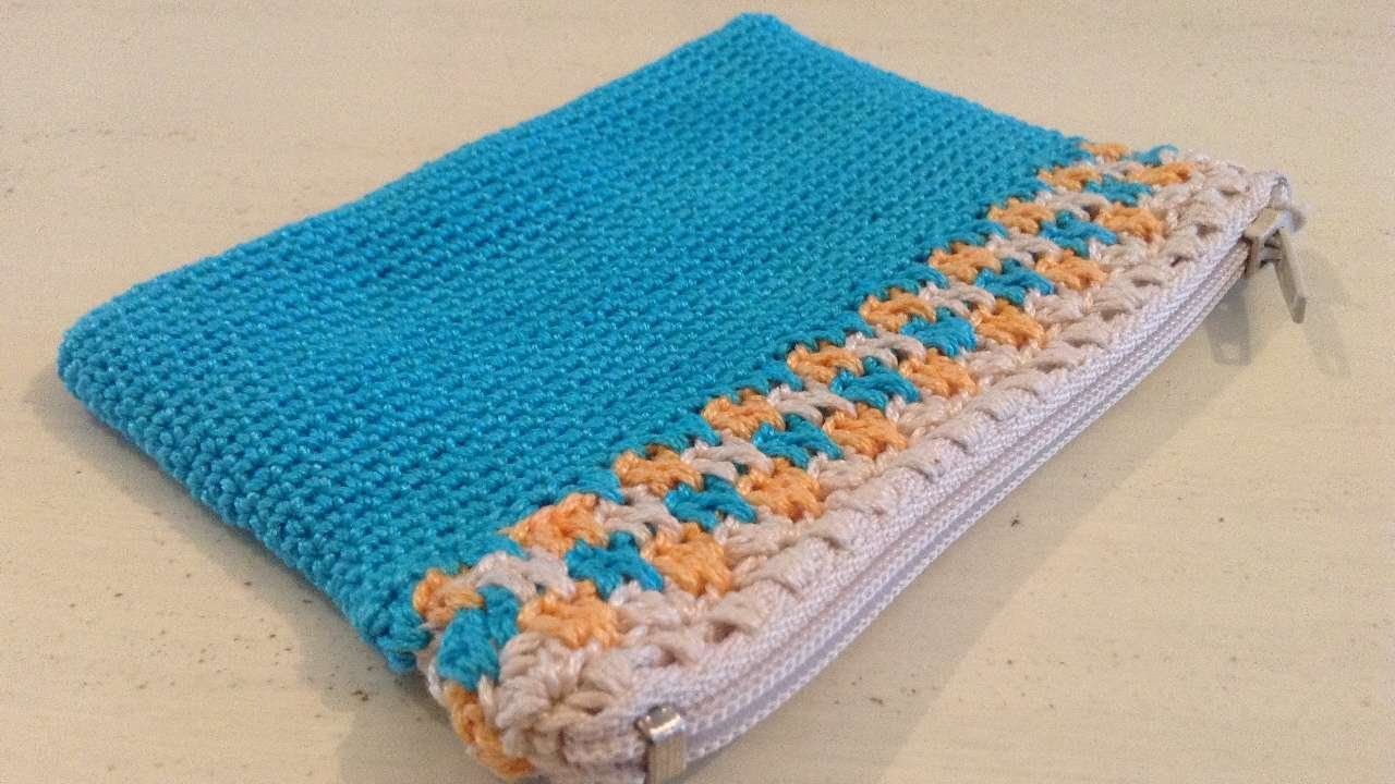 how to make a crochet purse - diy crafts tutorial - guidecentral - buephlg