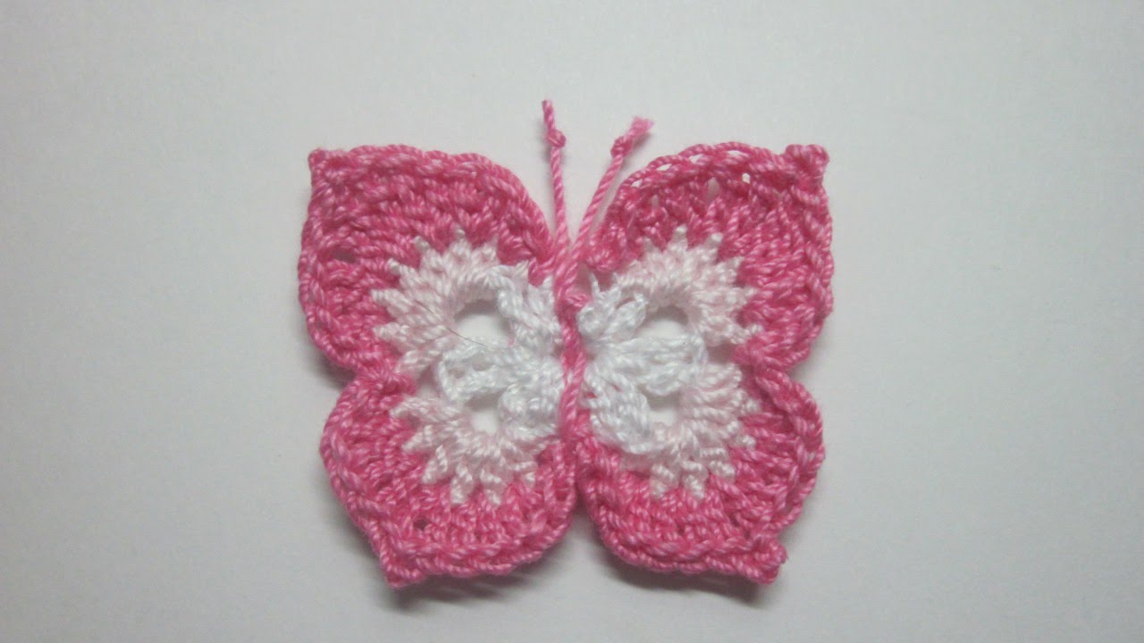 how to make a lovely crochet butterfly - diy crafts tutorial - guidecentral yhkxina