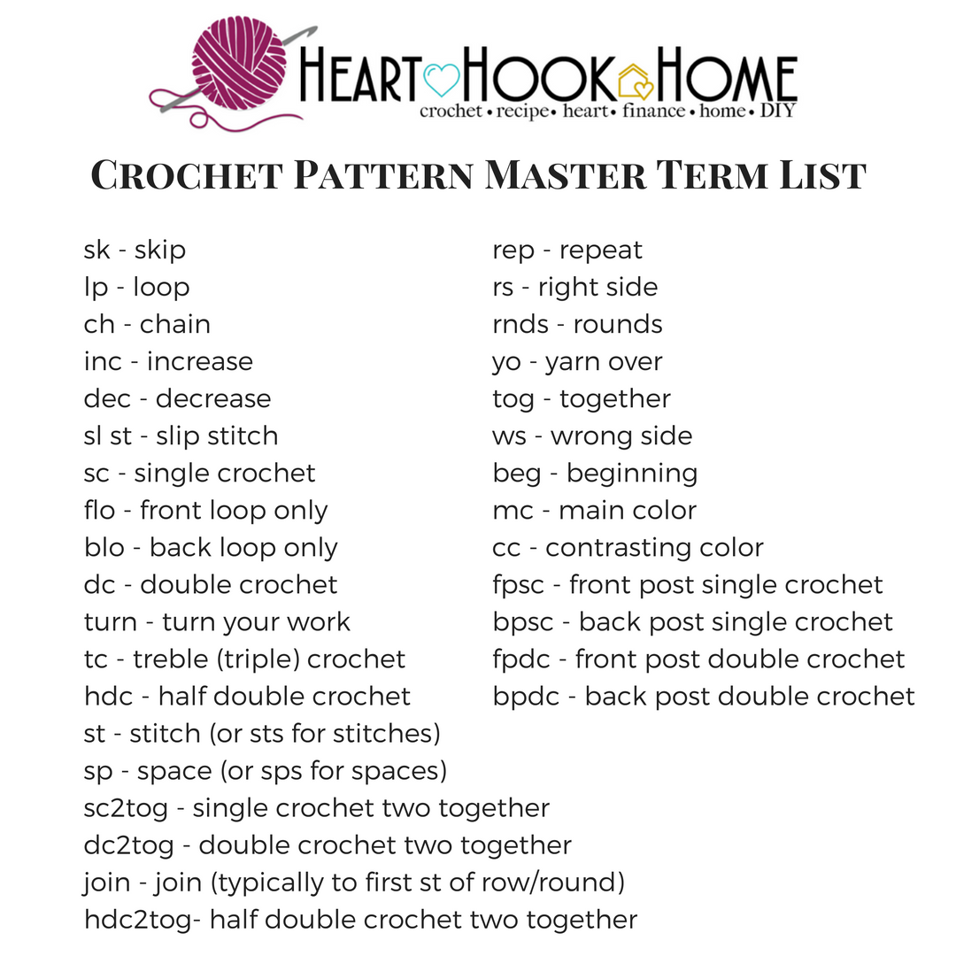 How To Read Crochet Patterns how to read a crochet pattern umstsnv