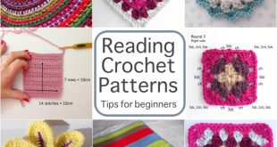 How To Read Crochet Patterns reading crochet patterns tips for beginners himxjxa