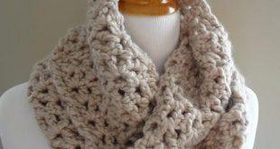infinity scarf crochet pattern classic crochet infinity scarf lvjuoub