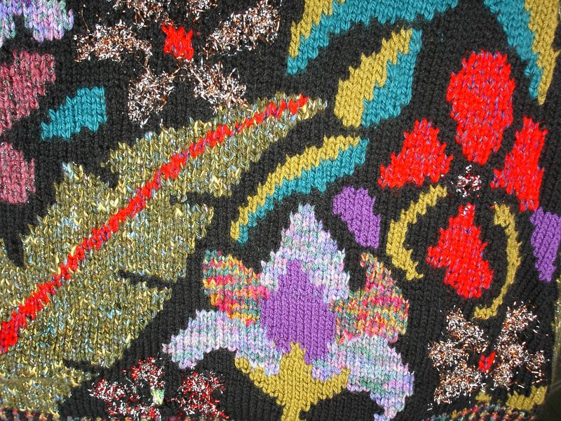 intarsia knitting intarsia fabric closeup kxjexpi