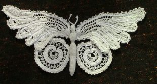 Irish Crochet irish crochet lace butterfly xvtzaaa