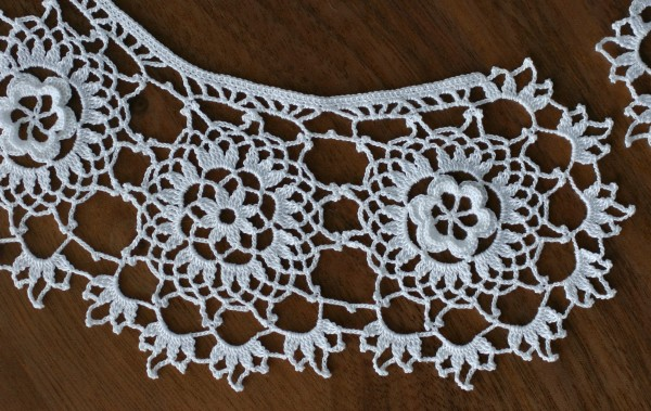 irish crochet lace collar fjnatfc