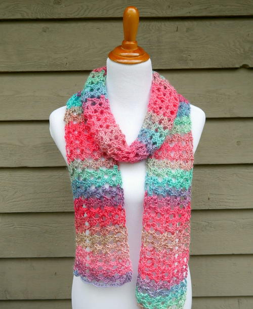 Knit Yourself a Crochet Scarf