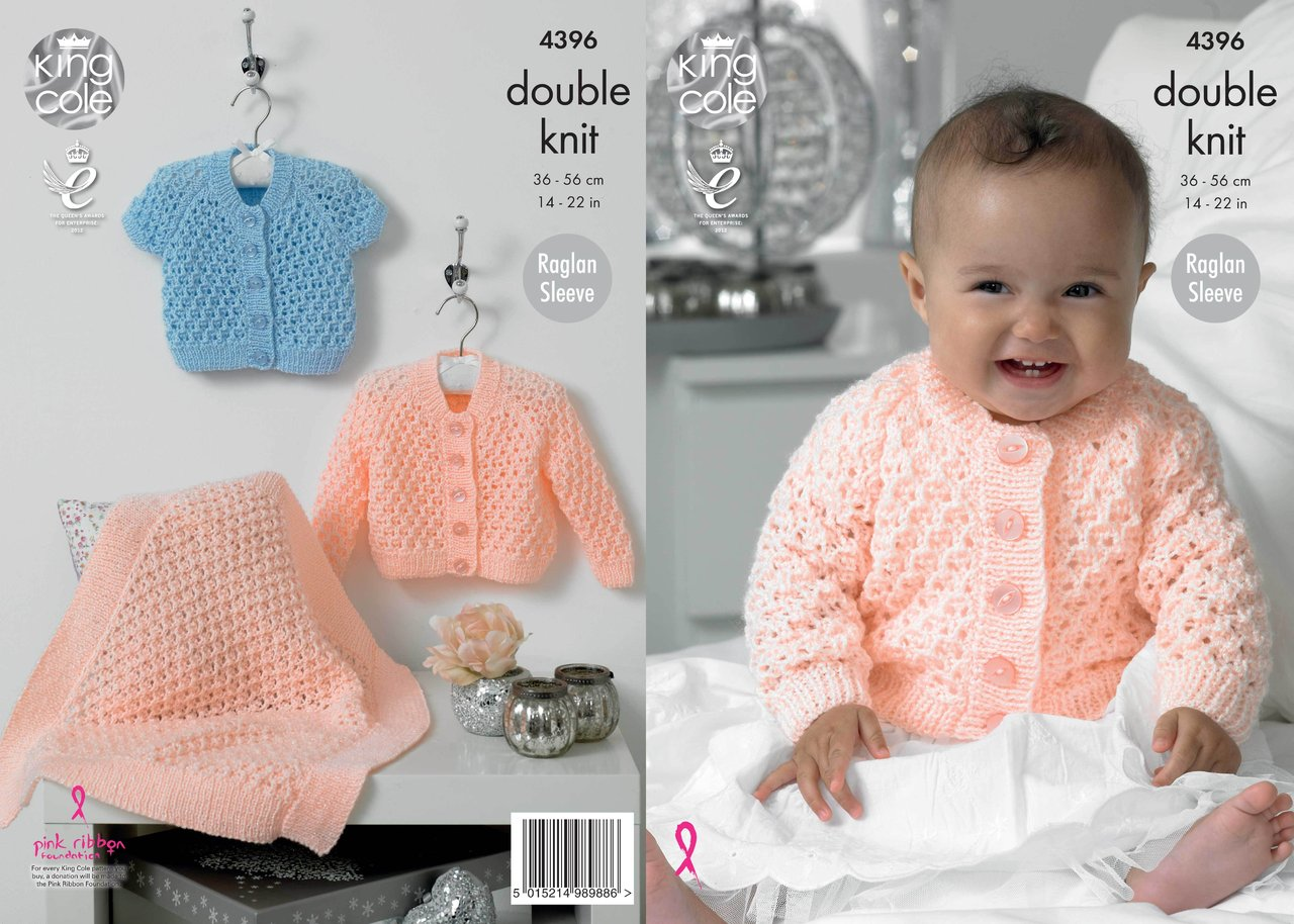 king cole knitting patterns king cole 4396 knitting pattern cardigans and blanket in king cole baby ahfjkgj