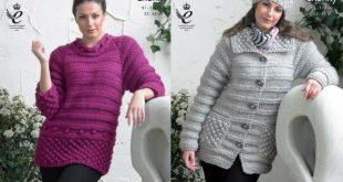 king cole knitting patterns king cole ladies jacket, sweater u0026 hat knitting pattern 3816 kpmokct