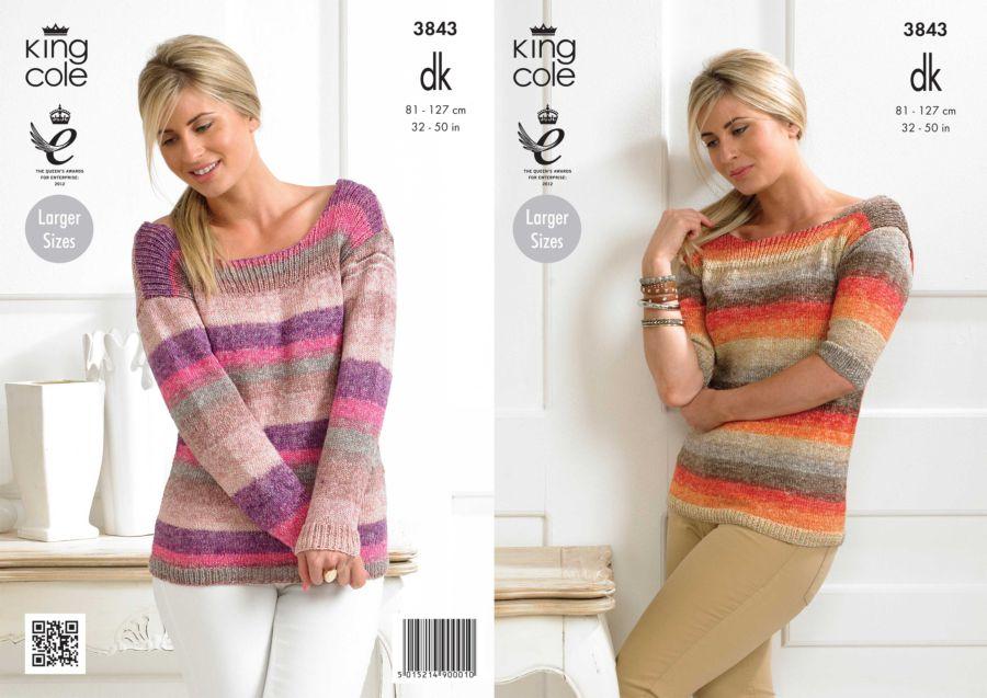 king cole knitting patterns king cole shine sweaters knitting pattern 3843 eethjik