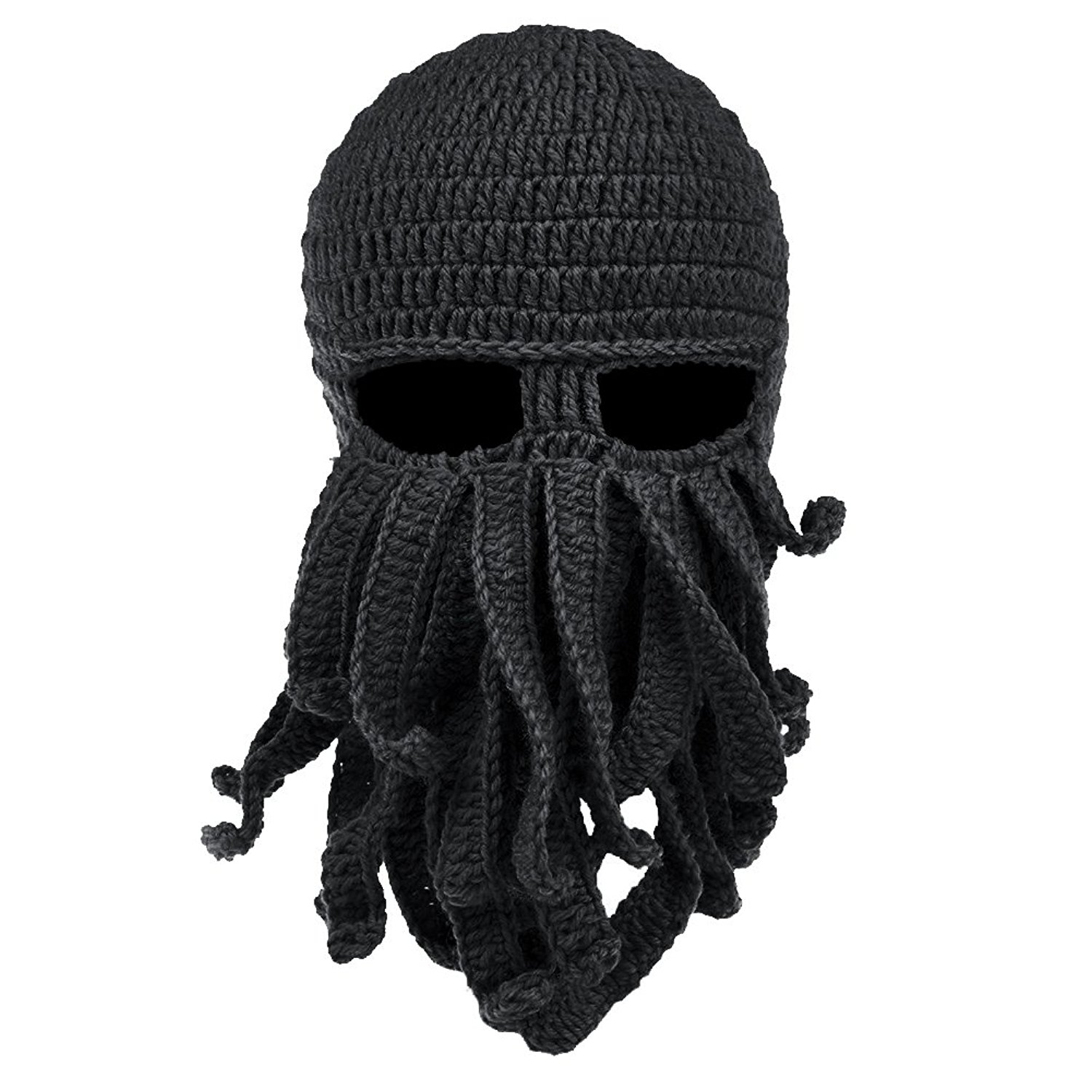 knit cap vbiger beard hat beanie hat knit hat winter warm octopus hat windproof boerzmh