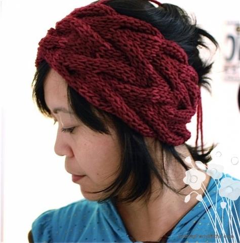 knit headband pattern free pattern: vanessa headband hpmnkuj