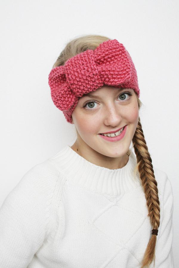 knit headband pattern pretty girl knit headband tzgxtxa
