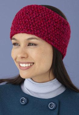 knit headband pattern seed stitch headband in lion brand vannau0027s glamour - l10658 zmizwnd
