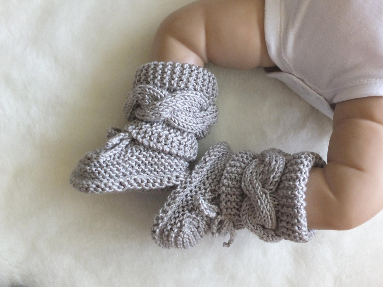 knitted baby booties 🔎zoom jnkgrfd
