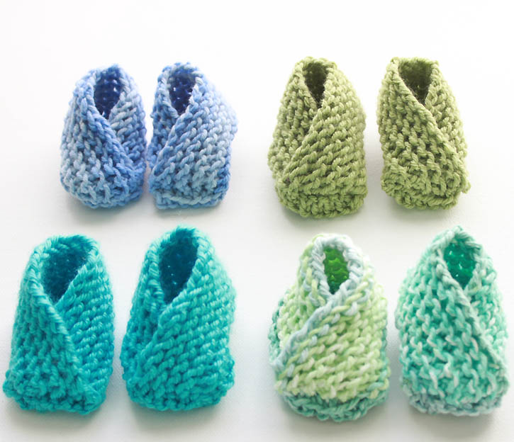 knitted baby booties knitting pattern for the easiest baby booties ever by gina michele dtnjqvj