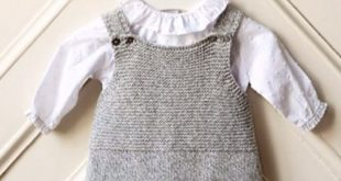 knitted baby clothes grey knitted romper suit | portuguese baby clothes | wedoble autumn winter ufhslzs