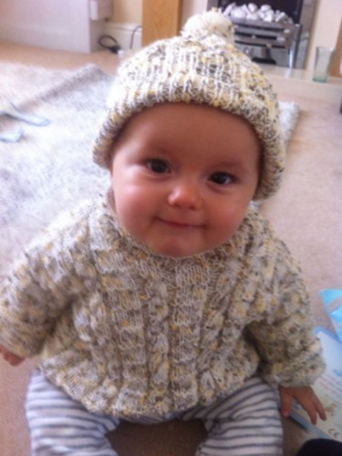knitted baby clothes you make: knitted and crocheted