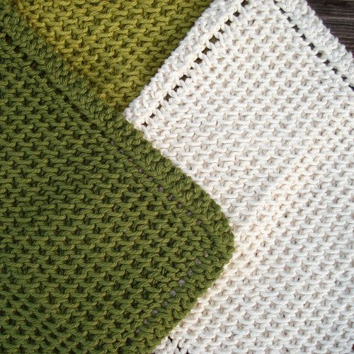 A Different Choice: Knitted Dishcloth Patterns ...