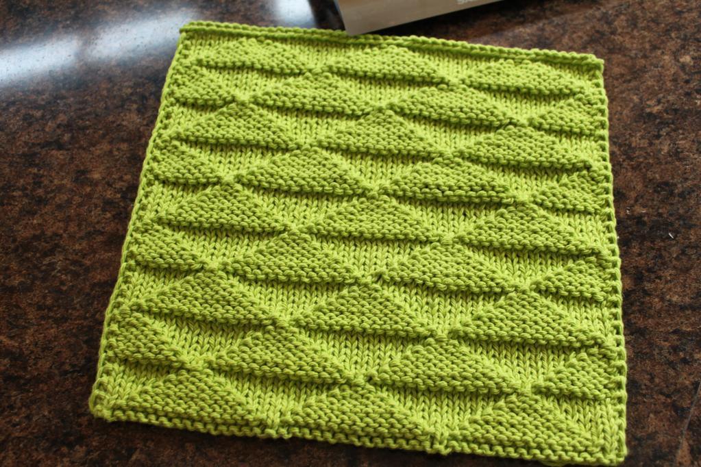 knitted dishcloth patterns isosceles dishcloth knitting pattern fqvqatj