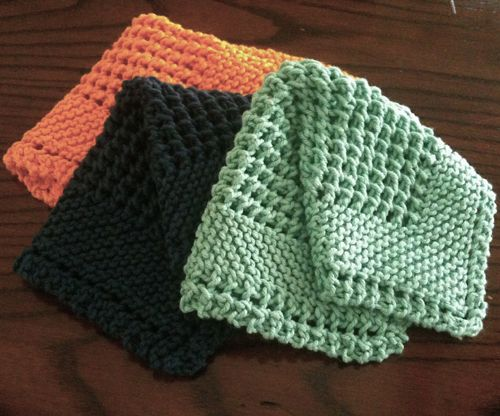 A Different Choice: Knitted Dishcloth Patterns