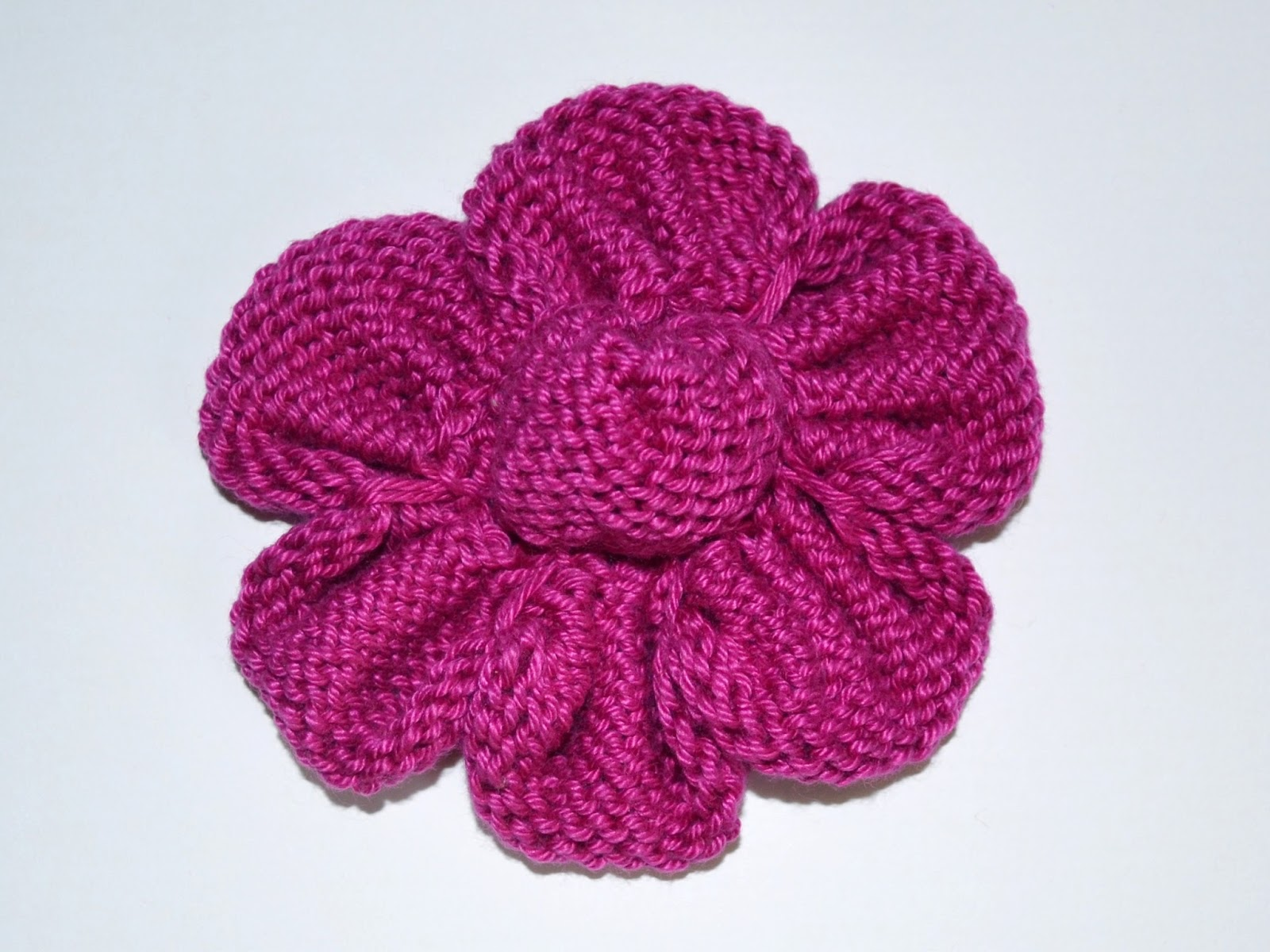 knitted flowers all flowers are knitted with sport/5-ply weight cotton yarn and size 2½ zarcmzy