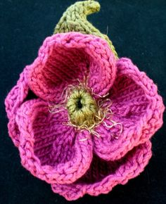 knitted flowers image detail for -pdf knitting pattern peony knitted flower by ohmay on etsy umfjpil