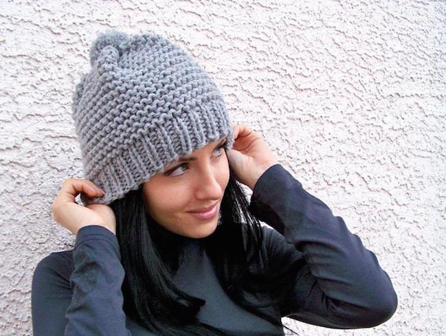 knitted hats ... 12 super-quick chunky hats to knit this weekend ... tlovunn