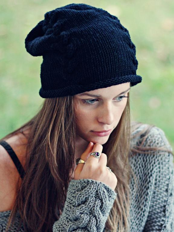 knitted hats black beanie free knitting pattern viftfil