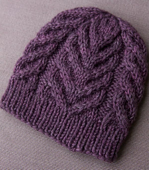 knitted hats northward - a free cable hat pattern! (tin can knits) aelkhou