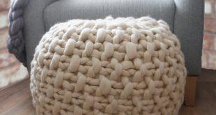 knitted pouf like this item? kyaetir