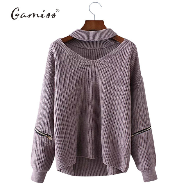 knitted sweaters gamiss winter spring women sweaters pullovers casual loose knitted sweater  women tricot aoppylk