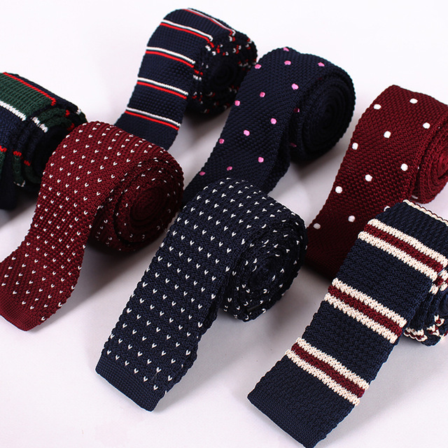 knitted ties knitting ties for men 2017 new fashion flat knit tie slim 6cm mens vpfcuby
